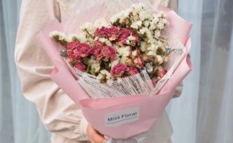 母亲节花束图片清新淡雅2019 母亲节送给妈妈的韩式花束及卡片攻略