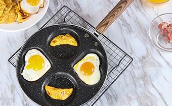 怎样煮荷包蛋不散不粘锅 荷包蛋怎么煎完好无损