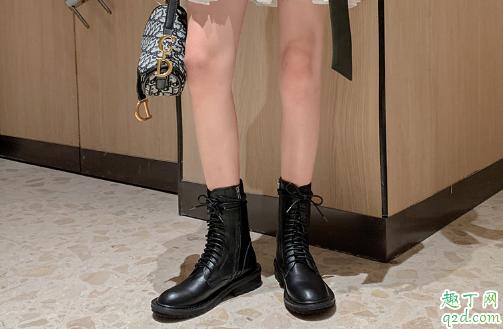 腿不直穿马丁靴好看吗 怎么穿马丁靴高显更显腿长 1