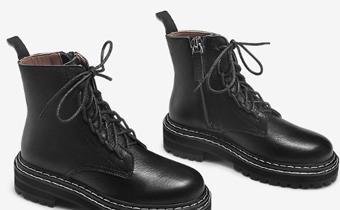 矮个子马丁靴几孔好看 150矮个子女生穿马丁靴图穿搭2019