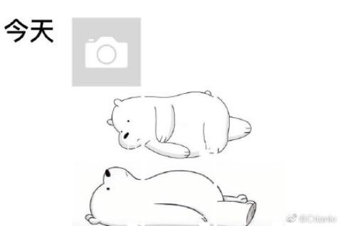 朋友圈小熊图为什么这么火 抖音朋友圈小熊升级版图片4