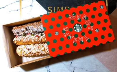 星巴克圣诞巧克力泡芙棒多少钱 星巴克圣诞巧克力泡芙棒好吃吗