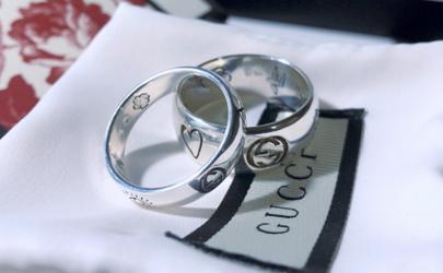 gucci情侣对戒是什么材质的 gucci情侣戒指大概多少钱价格
