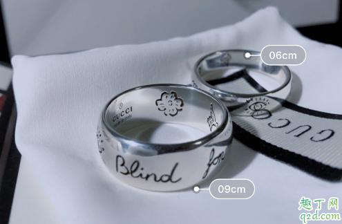 gucci情侣对戒是什么材质的 gucci情侣戒指大概多少钱价格2