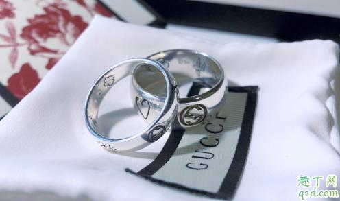gucci情侣对戒是什么材质的 gucci情侣戒指大概多少钱价格1
