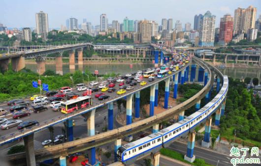 重庆市坐地铁用什么app 重庆轻轨没现金怎么办1