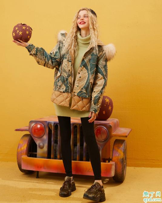 高领毛衣怎么搭配好看有气质 高领毛衣2020冬季搭配技巧11