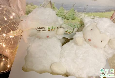 bunnies羊真假有什么区别 网红小羊玩偶真假对比图1