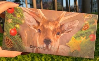 完美日记十二色圣诞小鹿眼影盘试色 完美日记眼影小鹿盘教程
