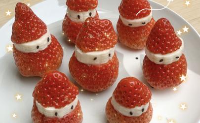 草莓糖葫芦好吃吗 草莓圣诞老人糖葫芦的做法窍门