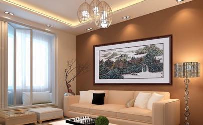 家里客厅挂多大的画合适 客厅挂画的位置和尺寸讲究