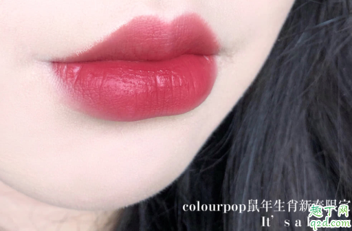 colourpop鼠年唇釉on cloud dynasty是什么颜色 卡拉泡泡on cloud dynasty试色6