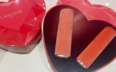 兰蔻2020情人节限定口红礼盒多少钱在哪买 兰蔻情人节口红色号及试色