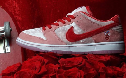 Nike情人节限定SB DUNK粉色多少钱 Nike SB联名StrangeLove情人节限定在哪买