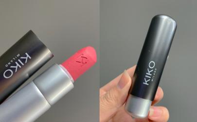 KIKO粉雾银管08什么颜色 KIKO柔雾银管08和mac923试色对比