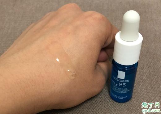 理肤泉b5小蓝瓶精华怎么样 理肤泉b5小蓝瓶玻尿酸是晚上用吗2