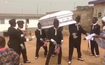 抖音黑人抬棺材动态图表情包 抖音黑人抬棺材视频出处