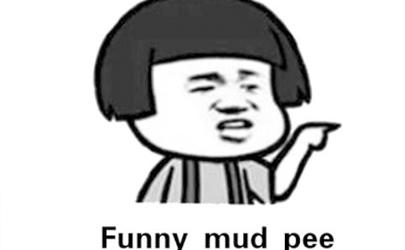 搞笑泥浆去尿英语怎么翻译 搞笑泥浆去尿是什么意思