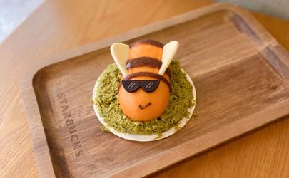 星巴克小蜜蜂初绽蛋糕好吃吗多少钱一个?造型萌爆你的少女心!