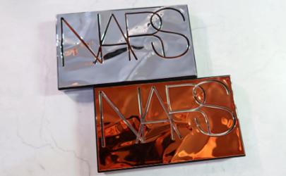 Nars2020限定眼影盘cool crush和afterglow试色对比,你更中意哪款?