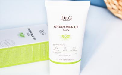 drg防晒霜绿色是物理防晒吗?成分安全,敏感肌放心