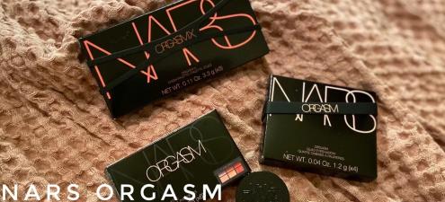 nars2020夏季限量六色眼影盘orgasm试色,断货警告!1