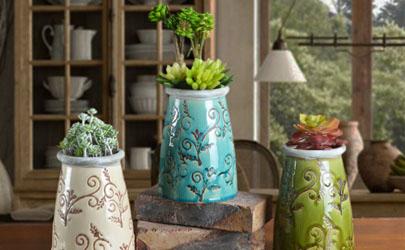 大陶瓷花盆的换盆技巧你知道吗?答案在这赶紧学起来