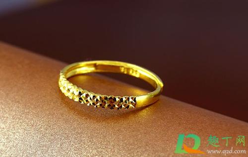 黄金戒指上有红色是怎么办3