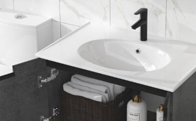 浴室柜面盆怎样清洗