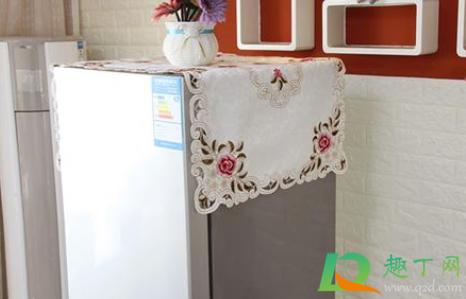 冰箱上放防尘布好吗3