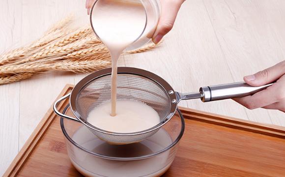 豆浆过滤筛堵了怎么清洗
