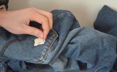 衣服上的口香糖用什么東西能洗掉