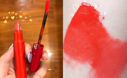 阿玛尼唇釉红管新色306什么颜色