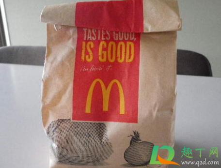 麦当劳饮料打包是塑料袋吗2