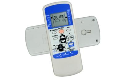 空调遥控器显示小房子什么意思