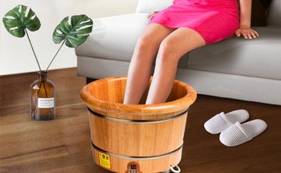 用热水泡脚会不会瘦腿