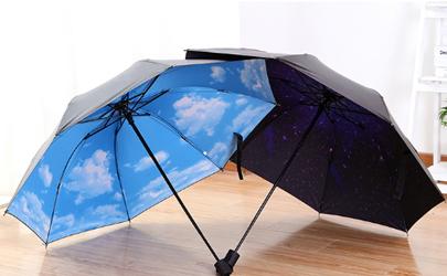雨伞带黑胶的好还是不带好