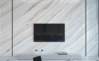 石材电视墙容易掉吗