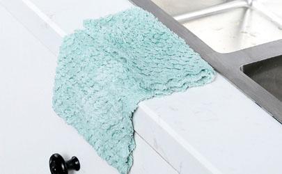 新的抹布能当毛巾用吗