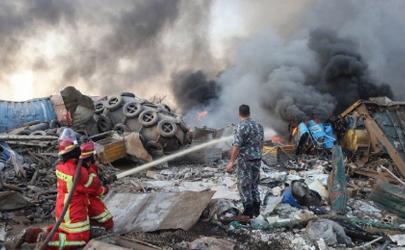 黎巴嫩首都突發爆炸怎么回事