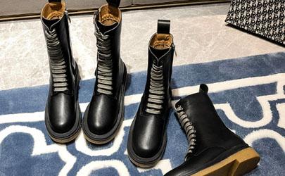 马丁靴穿着有折痕是真皮的吗