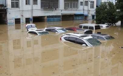 台风天车子被淹了怎么办