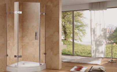 淋浴房玻璃上的水垢怎么去除