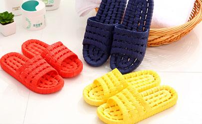 塑料拖鞋染上色咋洗