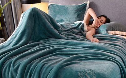 毛毯当被子盖对身体好吗