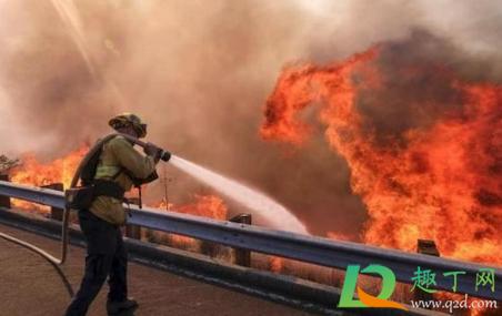 2020年美国加州山火灭了吗3