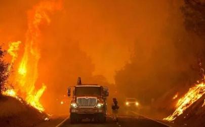 美国西海岸山火失控严重吗