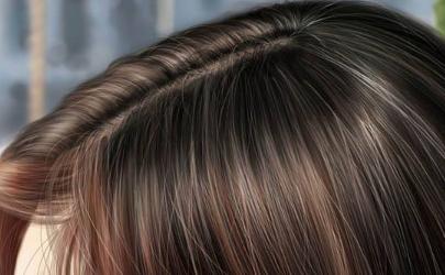 为什么有的头发丝会凹凸不平