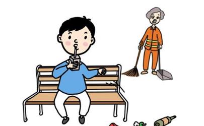 孩子乱扔垃圾怎么引导