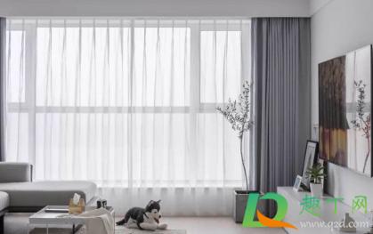灰色配什么颜色好看窗帘2